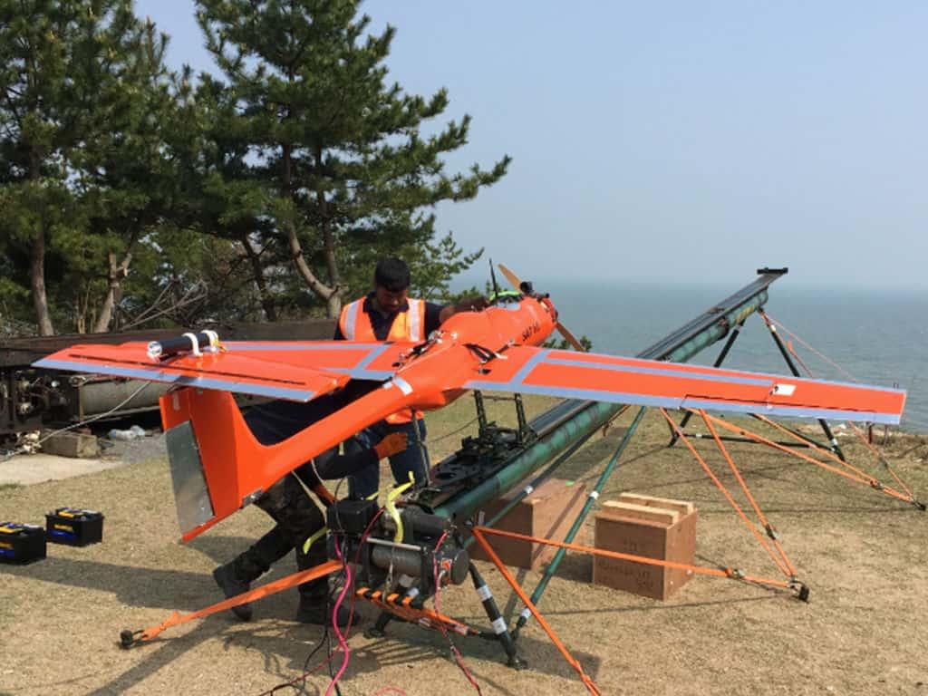 JX2 NG aerial target drone