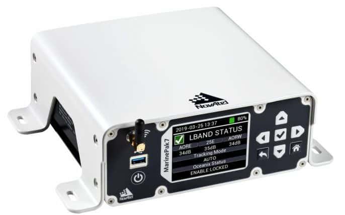 MarinePak7 multi-frequency GNSS receiver