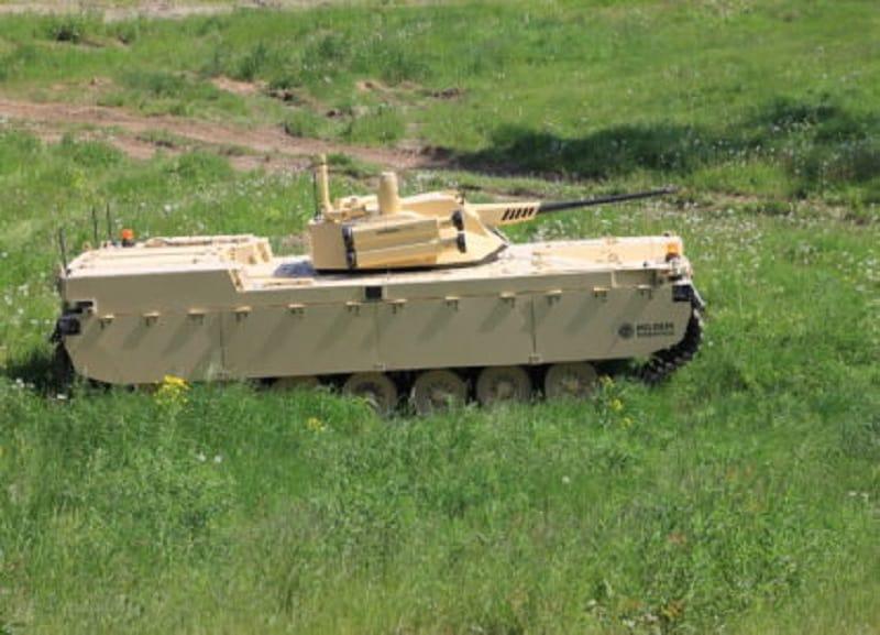 Type-X Robotic Combat Vehicle UGV