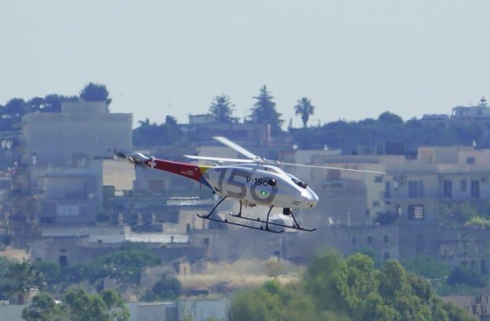 UMS Skeldar V-150 unmanned helicopter