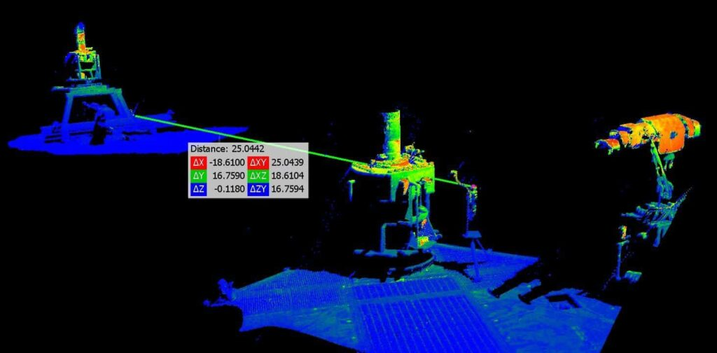 3D scanning and modelling for ROVs
