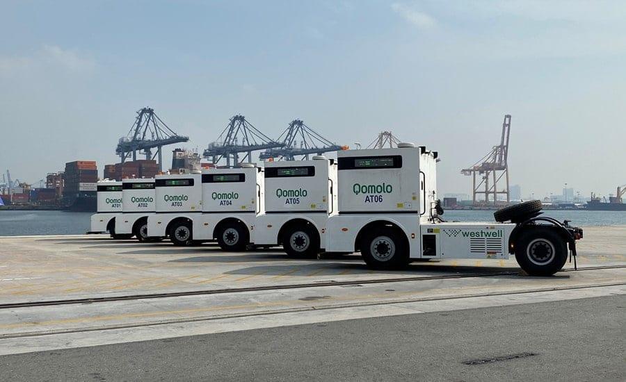 Autonomous trucks with CHCNAV GNSS-INS
