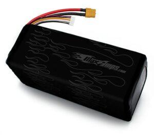 11,000 6S 22.2v lithium polymer battery pack