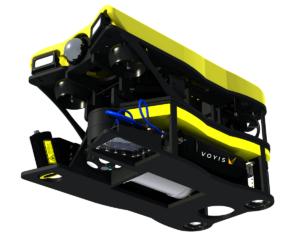 Micro skid underwater inspection camera
