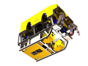 ROV 3D inspection scanner