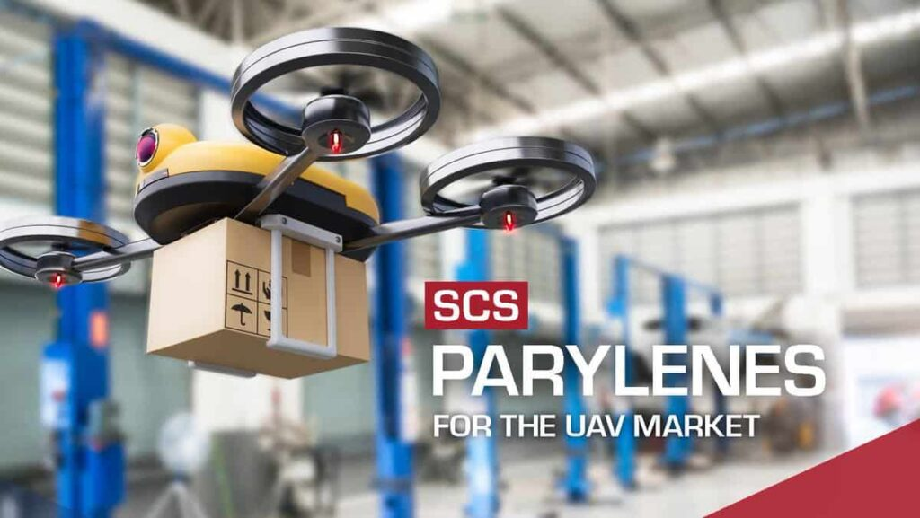 parylene coatings for uavs and drones