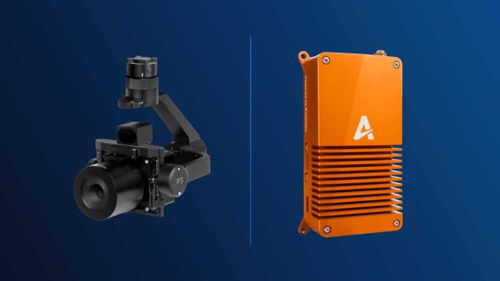 Auterion and Phase One P3 Payload for UAVs