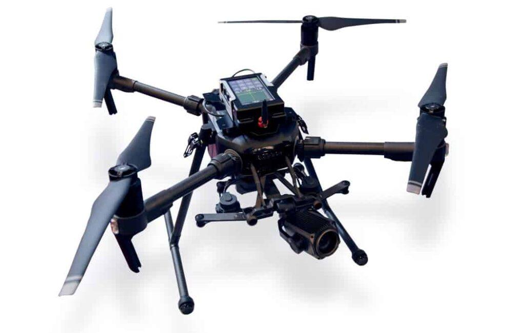 Drone-based RF spectrum analyser solution