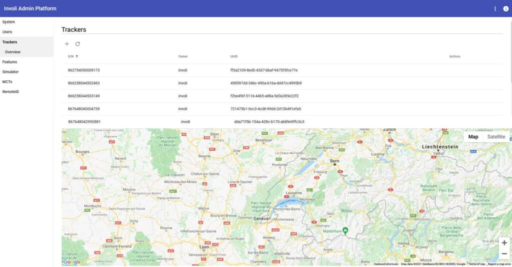 Drone tracking software