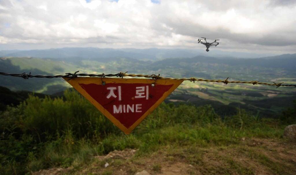Drones for landmine detection 1