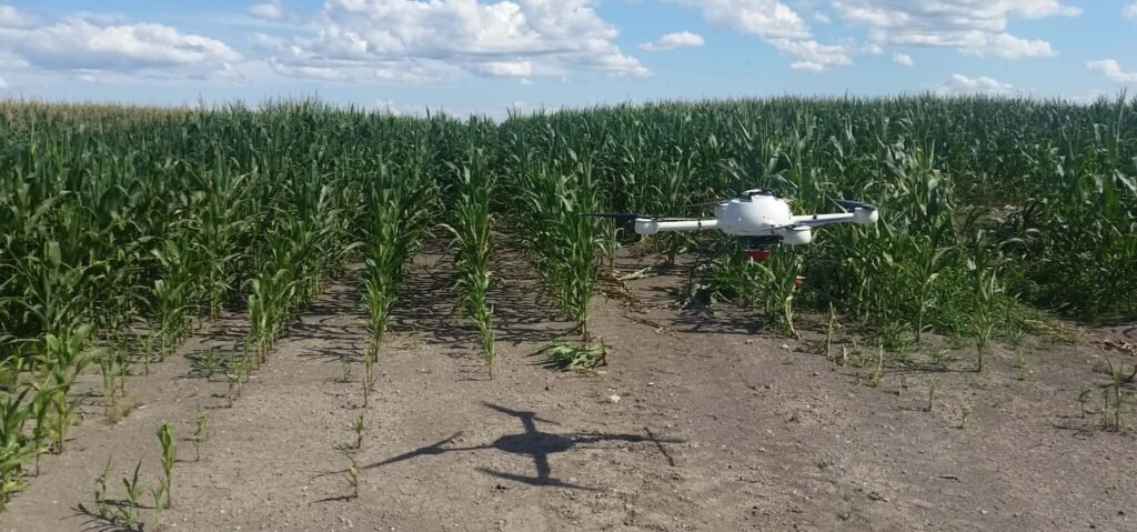 Drones for precision agriculture