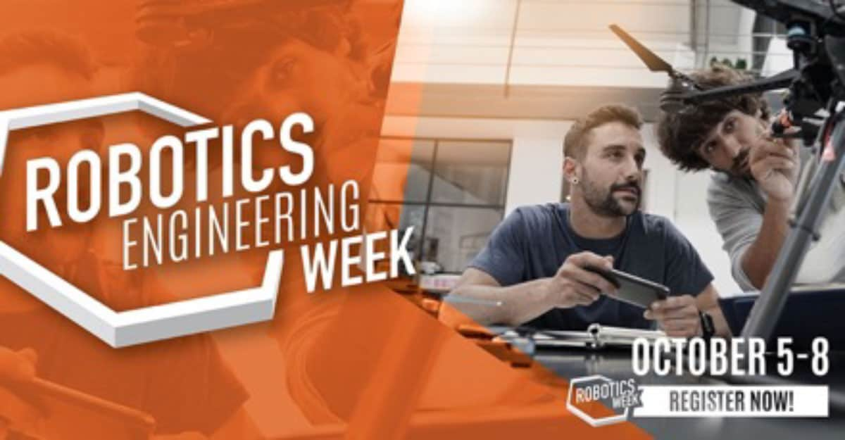 Robotics Engineering Week