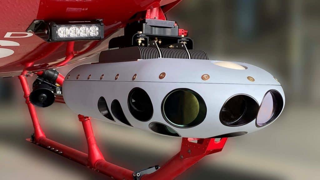 Sentient Vision Systems UAV VIDAR pod