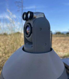 Surveillance drone EO:IR payload