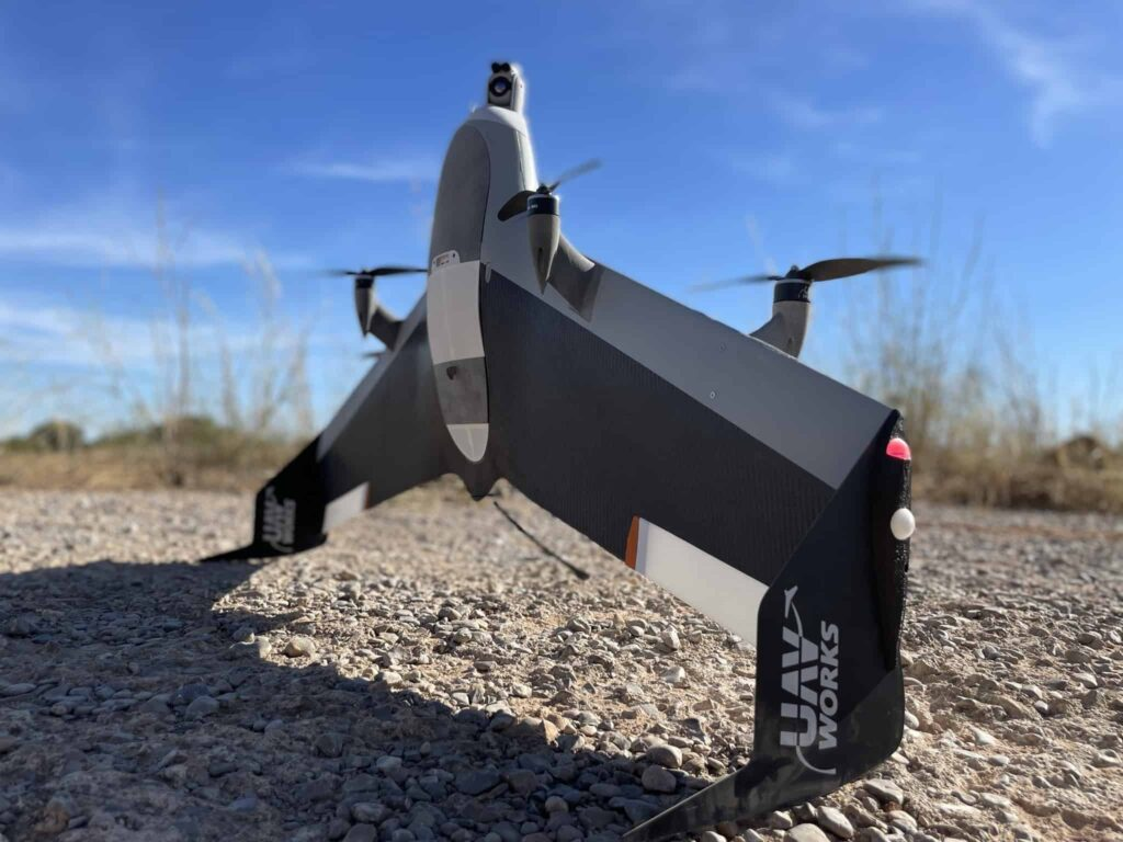 VALAQ Patrol Security drone