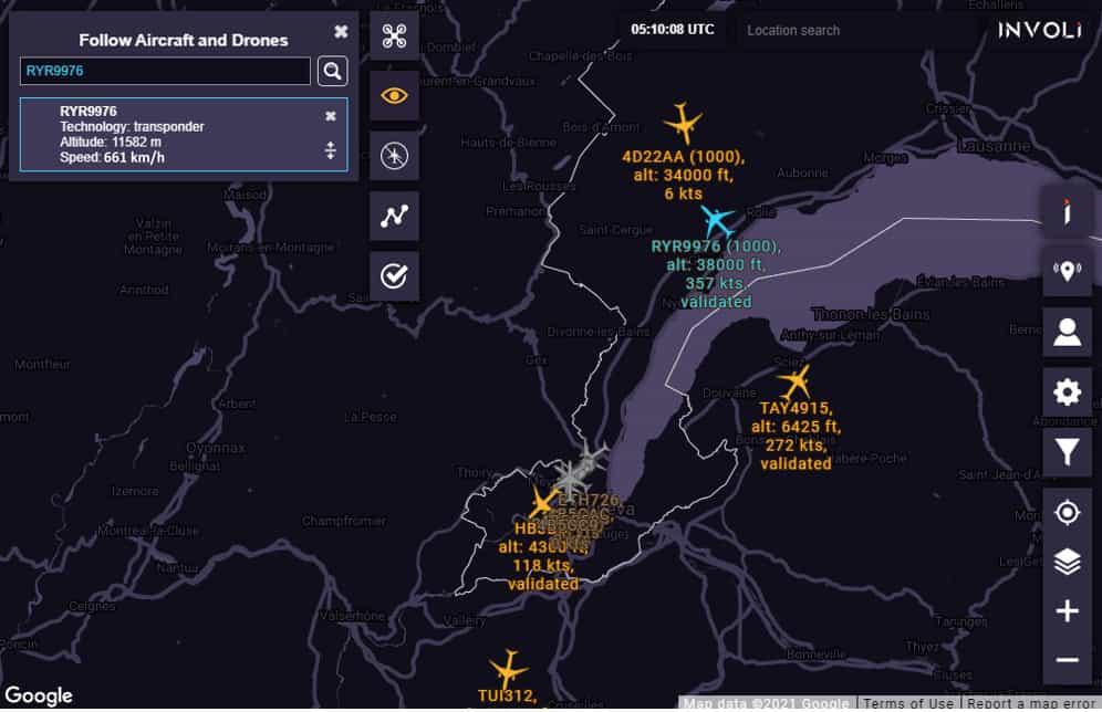 involi api - unmanned traffic management software