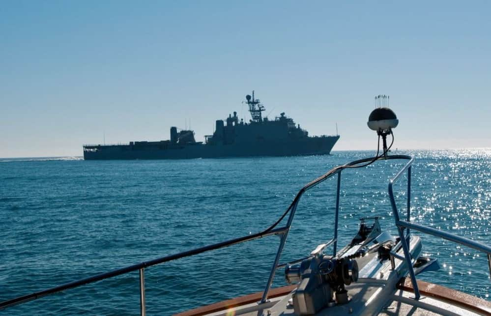 Acoustic situational awareness for USVs