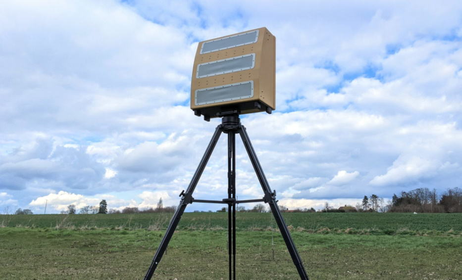 Blighter A800 3D drone detection radar