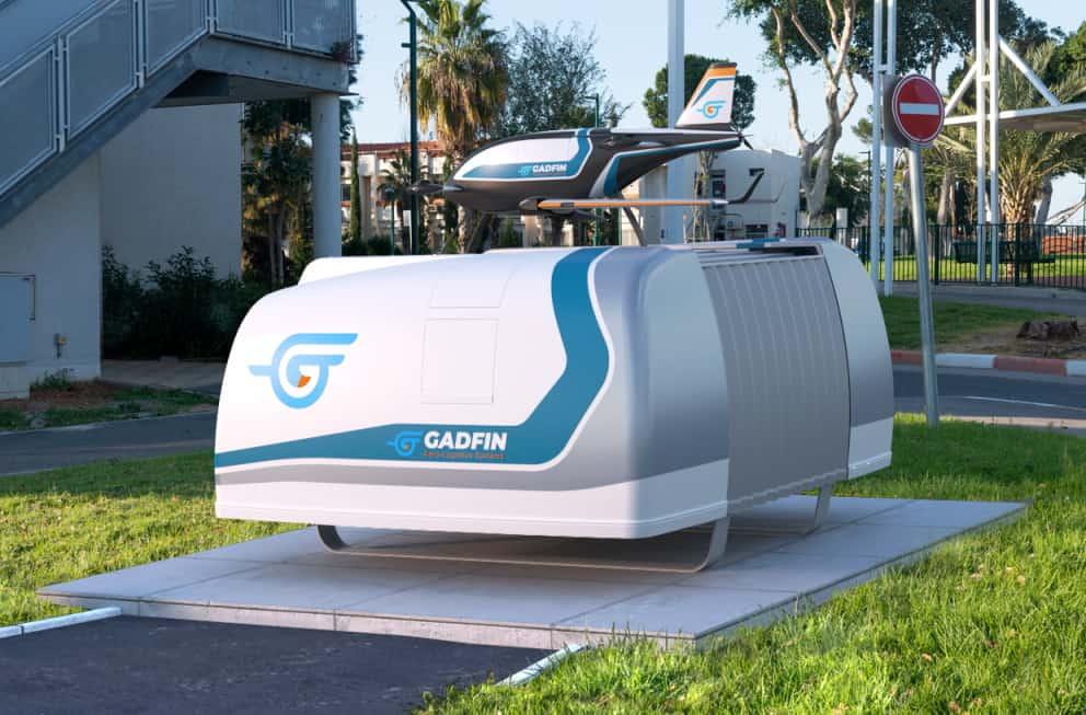 Gadfin eVTOL delivery drone