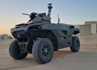 Multi-Mission Battlefield UGV Unveiled