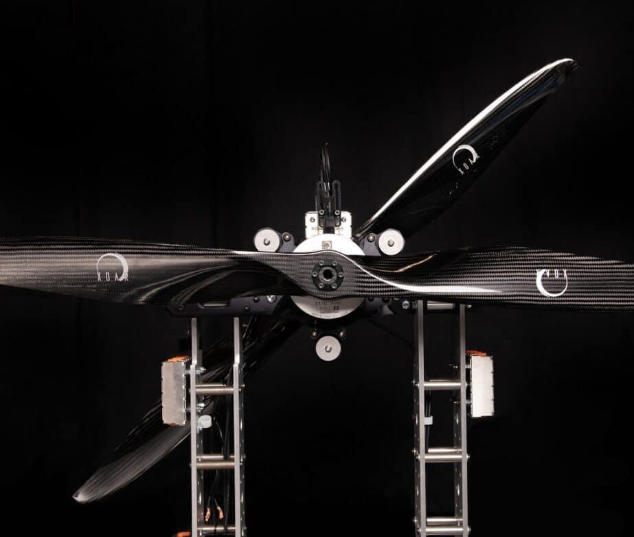 drone motor testing