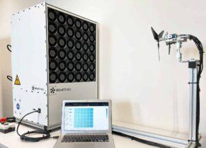 Drone wind tunnel modeling