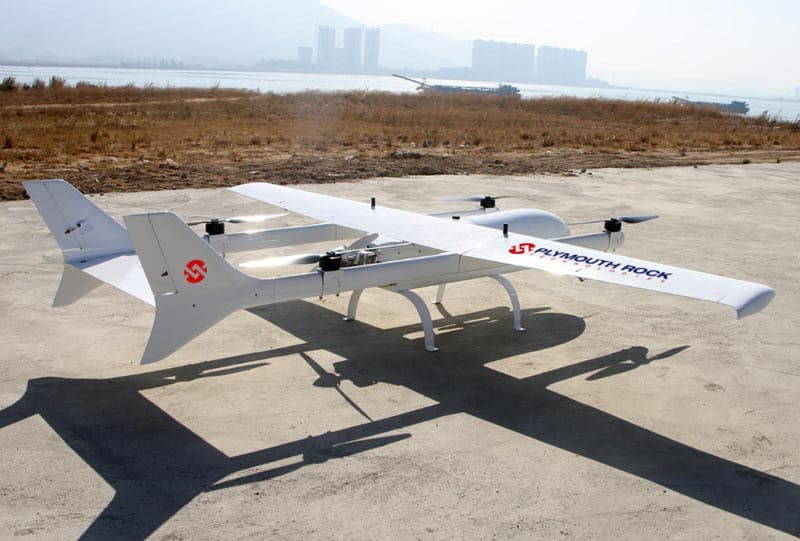 Fixed-Wing VTOL UAS for Remote Operations in Kazakhstan