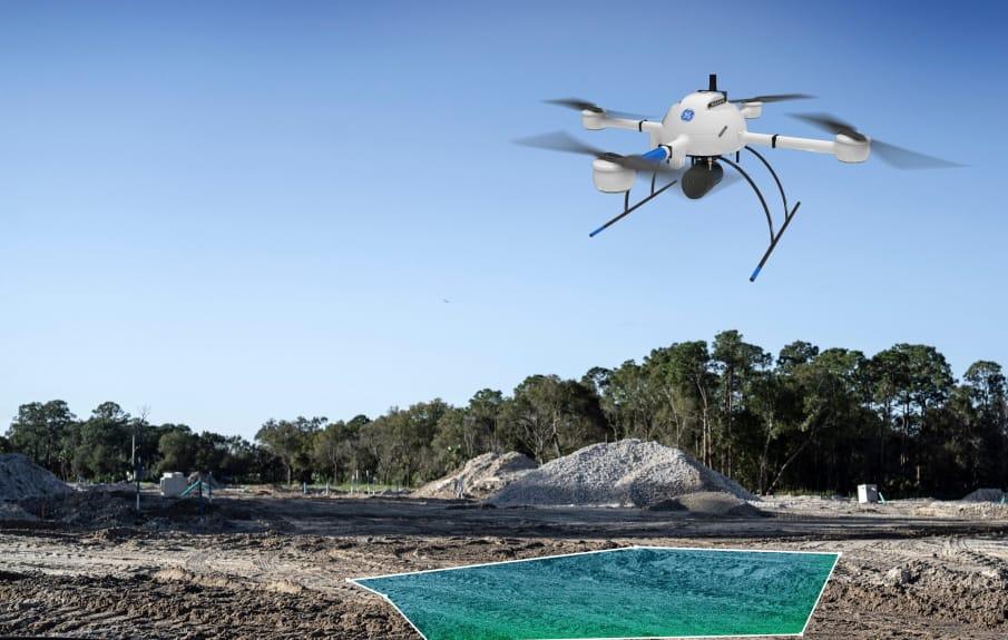mdLiDAR1000LR drone lidar system